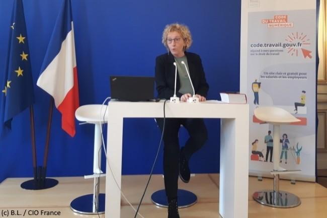 La ministre du travail, Muriel Pénicaud, a présenté officiellement le Code du Travail Numérique le 16 janvier 2019.
