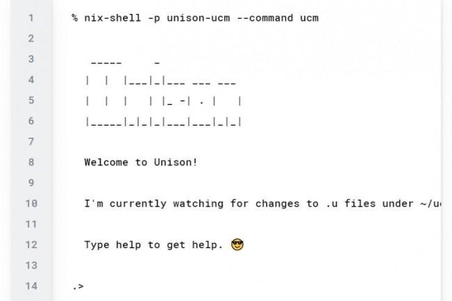 Unison se veut un langage convivial pour décrire les systèmes distribués avec un code immuable. (Crédit Photo : DR)