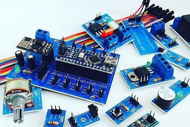 Les kits Arduino permettent de mener à bien des projets très variés, notamment dans l'IoT. (Crédit D.R.)