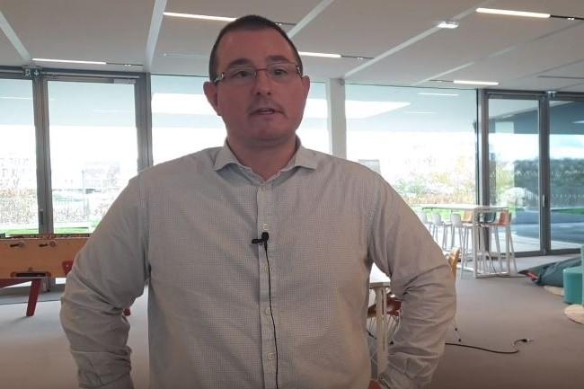 Pierrick Delhaye responsable sécurité et infrastructures de Groupe FDSEA 51