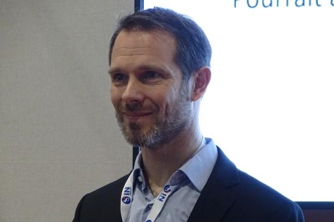 Xavier Leschaeve, RSSI de Rémy Cointreau, a précisé dans une intervention au FIC son expérience avec l'EDR de Crowdstrike. (Crédit Photo: JC)