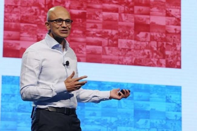 Depuis l'arrivée de Satya Nadella à la tête de Microsoft en février 2014, le cours de l'action de l'éditeur a grimpé de 330% pour culminer aujourd'hui à près de 172 dollars. (crédit : D.R.)