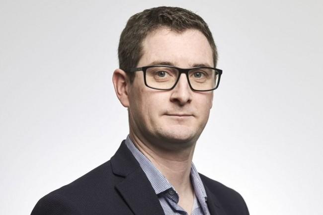 Rodolphe Sallio, CTO de Damart, a répondu aux questions de notre confrère CIO à l'occasion de sa venue à la conférence «Datacenters : les bons choix en 2020» du 23 janvier 2020. (crédit : Bruno Lévy)