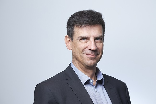 Henri Pidault, CIO Groupe SNCF, a r�pondu � nos questions � l�occasion de sa venue � la CIO.exp�riences � Datacenters : les bons choix en 2020 � le 23 janvier 2020. (Cr�dit : Bruno L�vy)