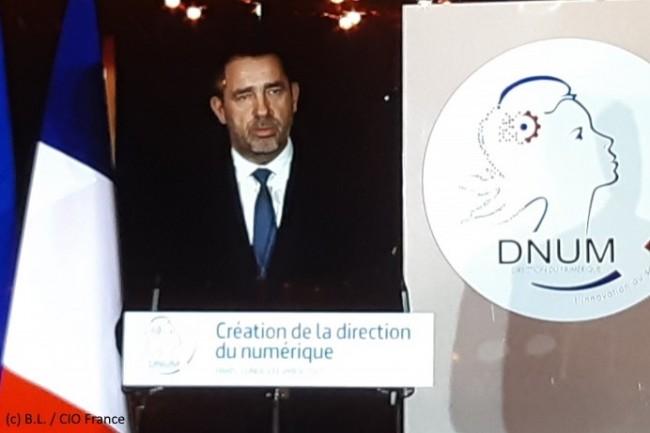 Christophe Castaner, ministre de l'Intérieur, a clôturé la Première édition des Rencontres numériques de l'Intérieur.