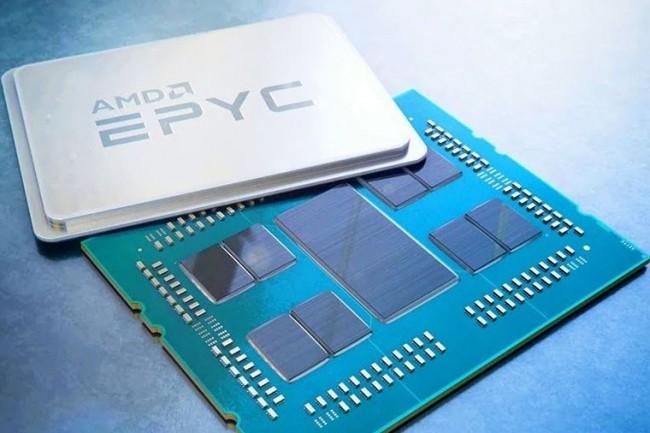 La modification de la tarification de VMware sur les licences impactera les sockets 64 coeurs comme les puces Epyc d'AMD. (crédit : AMD)