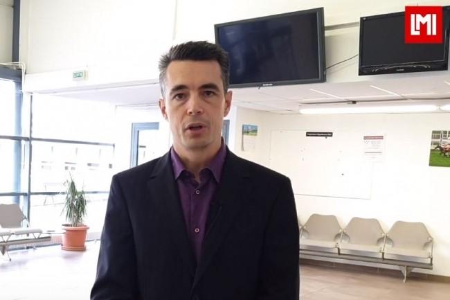 Emmanuel Laroche, membre de l'Institut Numérique Responsable est intervenu sur l'IT Tour 2019 à Toulouse organisé à l'hippodrome le 28 novembre 2019. (crédit : LMI)