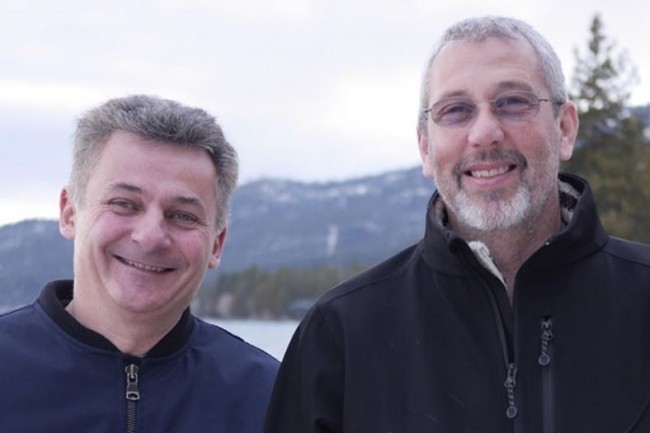 Benoît Dageville et Thierry Cruanes, co-fondateur de Snowflake avec Marcin Zukowski, peuvent se réjouir d'un tour de table à 479 millions de dollars. (Crédit Photo : Snowflake)