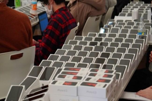 Des iPhone pour les passagers du Diamond Princess en quarantaine � cause de la contamination au coronavirus. (Cr�dit Photo : DR)
