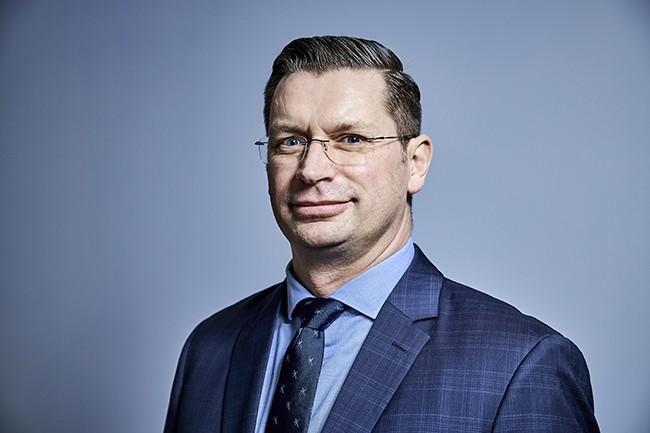Anthony Hié (DSITN, ESCP-BS) a répondu à nos questions à l'occasion de sa venue sur la CIO.Expériences du 6 février 2020. (Crédit : Bruno Levy)