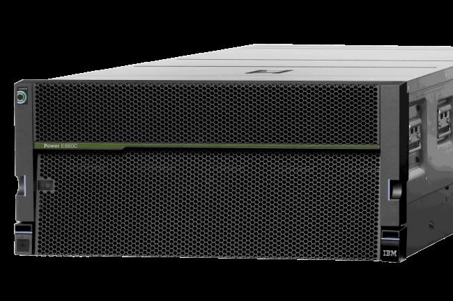 SAP vient de certifier les serveurs Power d'IBM pour son cloud HANA. (Crédit IBM)