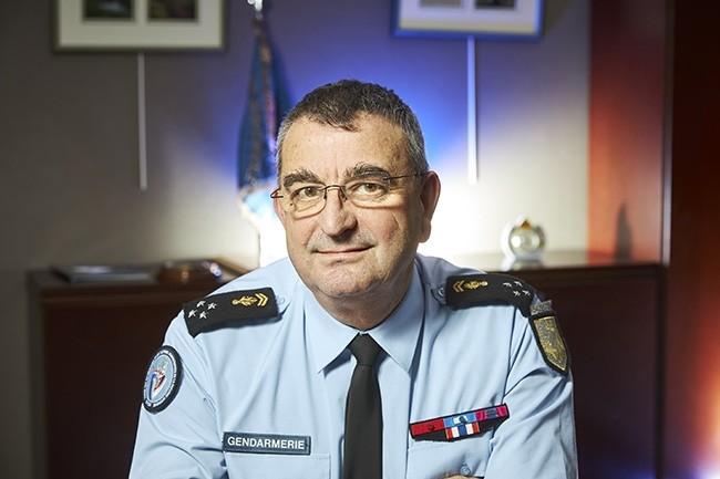 Général Bruno Poirier-Coutansais, chef du ST(SI)² :« l'open source est une stratégie, pas un dogme. » (Crédit : Bruno Levy)