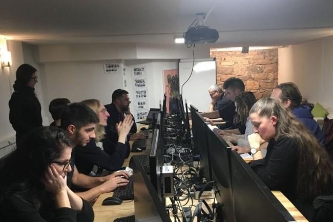 La Battle Dev a rassemblé plus de 5 000 codeurs lors de sa dernière édition, dont ceux de la 3Wacademy de Grenoble (ci-dessus) . Crédit photo:  3WAcademy.