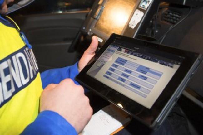 L'application GendNotes disponible sur les smartphones et tablettes NeoGend est apte à traiter des données sensibles. (Crédit Photo : Ministère de l'Intérieur)