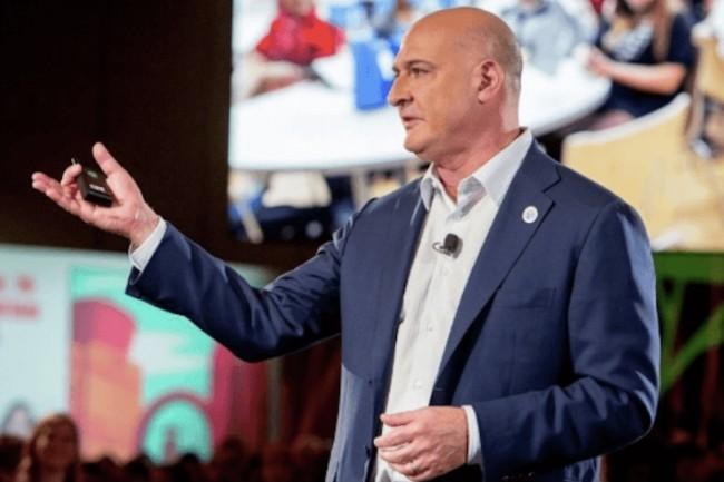 Débauché d'Oracle il y a 7 ans, Keith Block va rester conseiller de Salesforce. (Crédit : Salesforce)