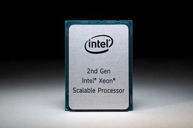 La série Cascade Lake Refresh d'Intel redonne un coup de fouet à ses puces Xeon Scalable. (Crédit Intel)