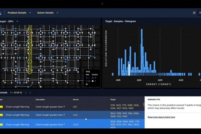 D-Wave qui a lancé sa plateforme cloud de développement d'apps quantiques Leap 2 collabore avec la Nasa et Google depuis 2013. (crédit : D-Wave)