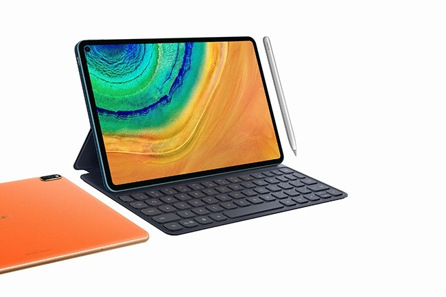Les MatePad Pro seront disponibles à partir d'avril, les deux modèles 5G en juin prochain. (Crédit : Huawei)