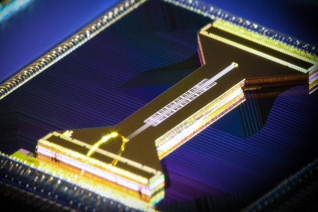 Honeywell souhaite devenir un grand de l'informatique quantique à travers une puce spécifique. (Crédit Photo : Honeywell)