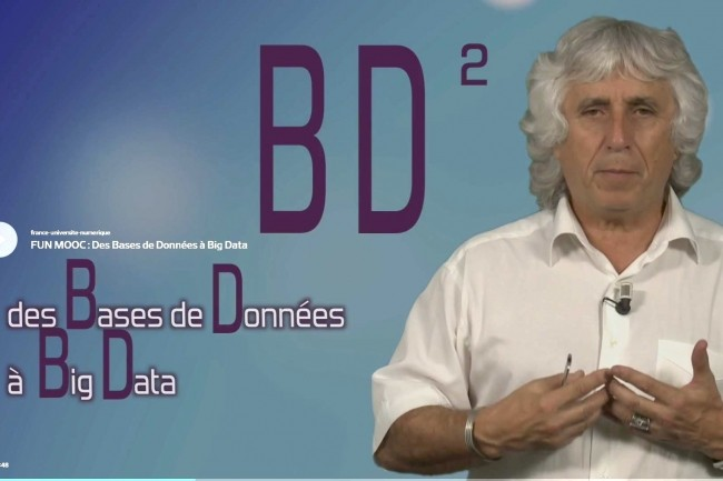 Un Mooc sur le big data avec l'Université de Nice Sophia Antipolis.