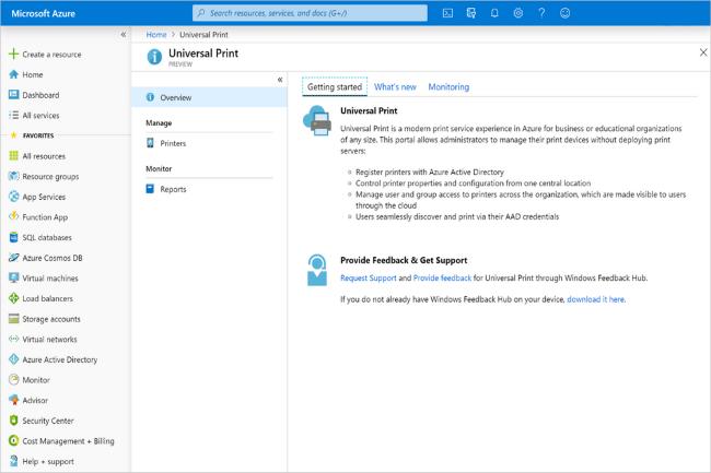 Après l'abandon de Google dans le système d'impression universel, Microsoft dévoile une beta de