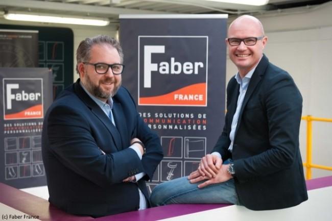 Loïc Wattraint et Georges Charlet (de dr. à g.), codirigeants Faber France : « L'ERP d'Infor devrait faciliter les interventions en cours de fabrication. »
