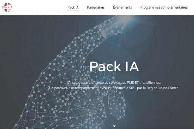 L'objectif du Pack IA est de conduire en 3 mois des projets d'IA présentant unretour sur investissement important.