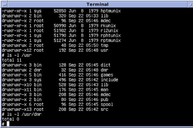 On peut facilement communiquer avec d'autres utilisateurs sur la ligne de commande Unix.