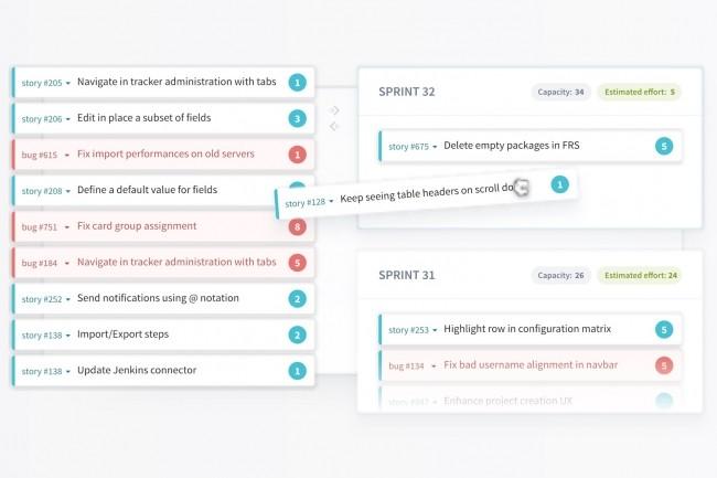 Solution d'ALM, Tuleap fournit des outils de collecte et de priorisation des demandes des clients et de planification des activités de mise en production en complément d'une chaine DevOps. (Crédit : Enalean)