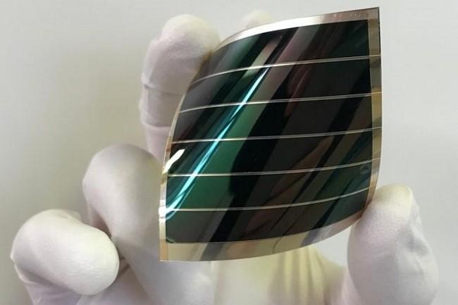 Le CEA et le Japonais Toyobo ont élaboré des cellules photovoltaïques pour des capteurs. (Crédit Photo : CEA)