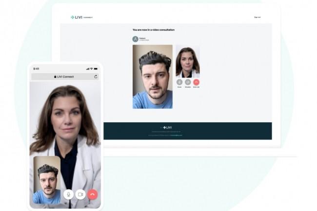 Le service de paiement en ligne PayPlug s'est associée à la solution de téléconsultation LIVI pour fournir une offre gratuite à l'attention des médecins pendant le confinement. (Crédit : LIVI)