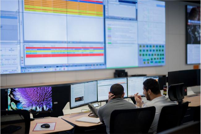 Un peu partout dans le monde, les opérateurs renforcent leur services pour suivre la montée en puissance des échanges des salariés en télétravail. (Crédit @orange-NicolasGouhier)