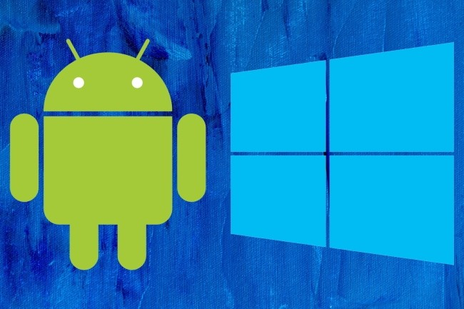 Il existe beaucoup de convergence entre Windows 10 et Android. (Crédit Photo: idg/Steve Johnson)