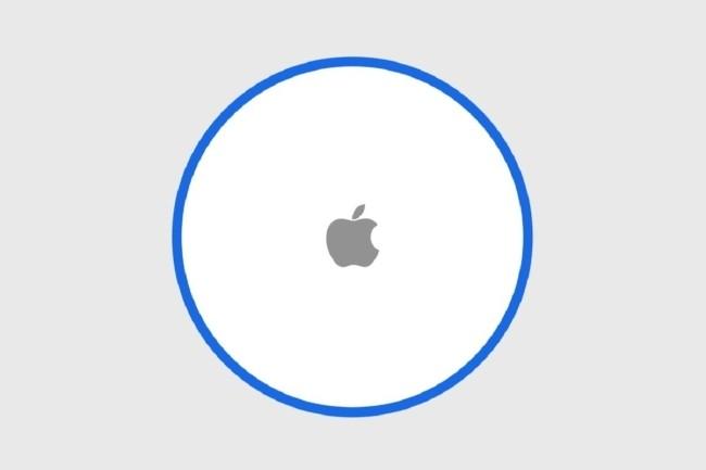 Selon le site 9to5 Mac, au sein d'iOS 13 des indications laissent à penser que les AirTags seront de forme ronde. (Crédit Photo : 9to5 Mac)