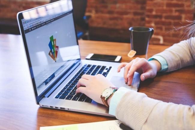 Les entreprises de l'IT ont recours au télétravail pour ne pas impacter l'activité des stagiaires et alternants. Crédit photo: Pixabay/ StartUpStockPhotos.