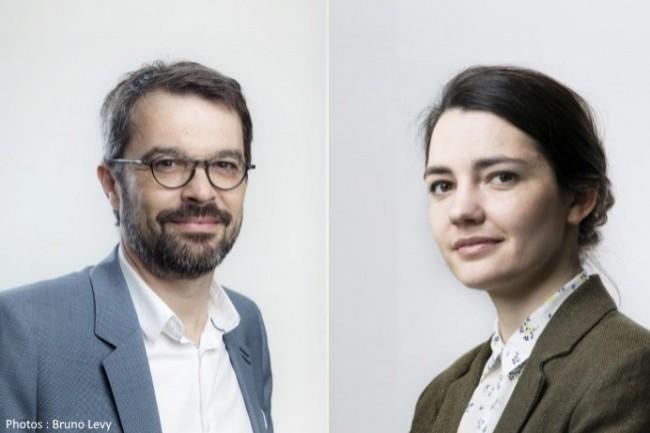 Etienne Papin et Stéphanie Foulgoc sont les deux premiers avocats associés de Next Avocats
