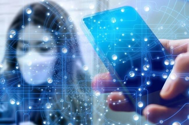 Le système Le traçage de proximité envisagé par les chercheurs, l'objectif est de notifier de façon anonymisée des personnes dont les smartphones se trouvaient dans une zone où des personnes infectées se sont déplacées. (Geralt / Pixabay)