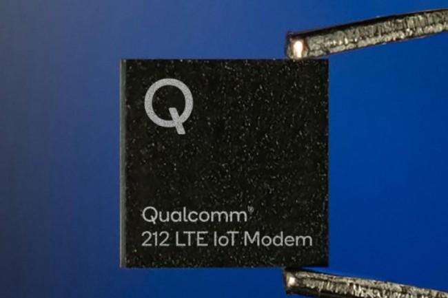 Le modem 212 LTE NB2 de Qualcomm est taillé pour les applications IoT. (crédit : Qualcomm)