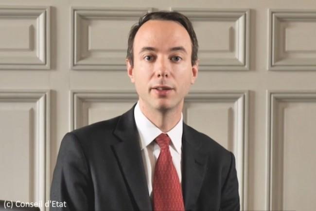 Enarque et normalien, Louis Dutheillet de Lamothe provient du Conseil d'État.