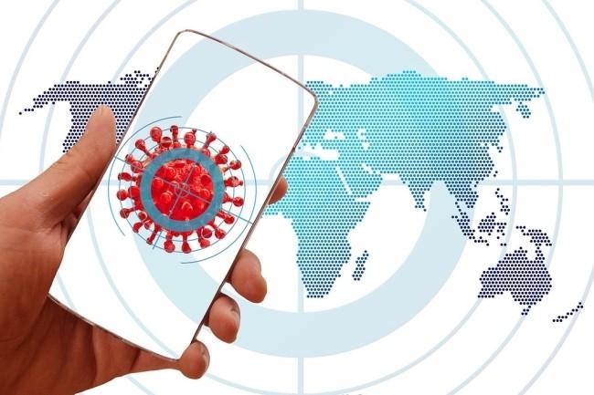L'application StopCovid pose des problèmes techniques, politiques et éthiques. (Crédit Photo : Geralt/Pixabay)