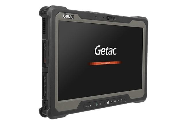 Il s'agit de la tablette Getac avec l'écran le plus grand de la gamme, à 14 pouces. (Crédit : Getac)