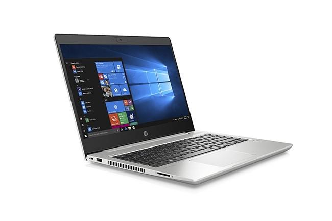 Le ProBook 445 G7 est doté d'un écran 14 pouces quand son grand frère propose 15,6 pouces. (Crédit : HP)