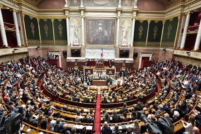 Edouard Philippe a indiqué devant l'Assemblée Nationale le 28 avril 2020 que l'application StopCovid ferait l'objet d'un débat et d'un vote spécifiques. (Crédit Photo: Assemblée Nationale)