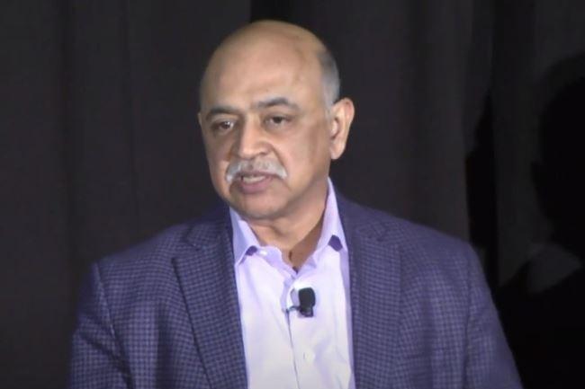 Arvind Krishna a pris officiellement ses fonctions à la tête d'IBM en tant que CEO le 6 avril 2020. (crédit : D.R.)