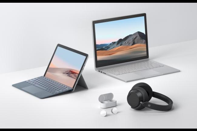 Microsoft annonce un Surface Book 3 et une Surface Go 2 ainsi que des earbuds