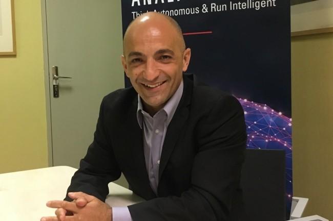La feuille de route d'Analytics for Applications va maintenir son rythme de livraison de produits,prévoitBruno Aziza, vice-président groupe pour les offres AI & Data Analytics Cloud chez Oracle (en avril 2019 à Paris / Crédit : LMI/MG).