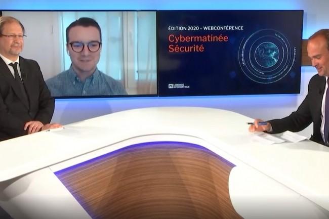 Tony Besseau, DSI Adapei-Aria de Vendée est intervenu sur la cybermatinée sécurité Pays-de-la-Loire. (crédit : LMI)
