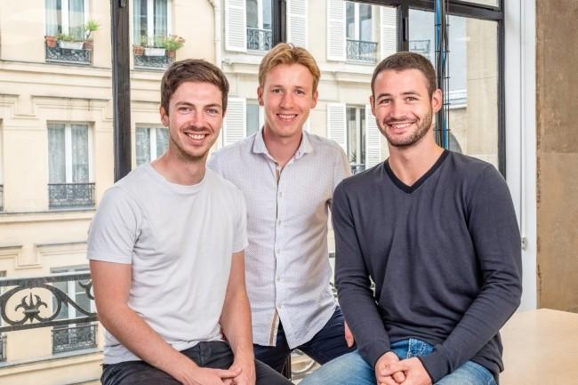 (De gauche à droite) Aurélien Georget, Pierre Burgy et Jim Laurie ont créé Strapi en 2016, un nom sous lequel se cache le slogan «Bootstrap your API». (Crédit : Strapi)