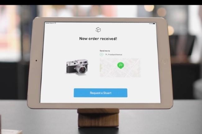 Un plug-in de livraison Stuart pour le CMS e-commerce Shopify