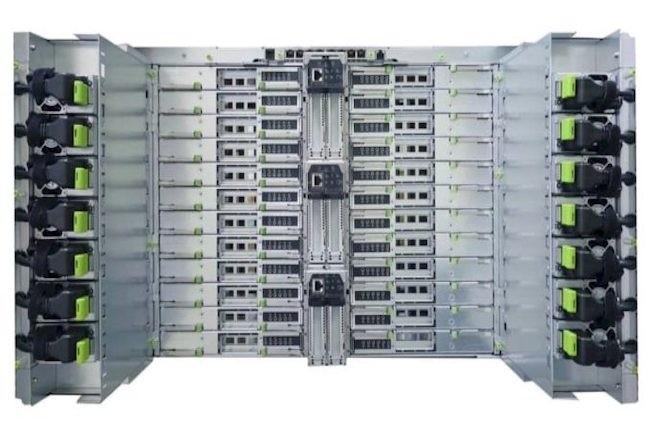 La conception du Fugaku est intéressante en ce qu'il n'exploite pas de GPU mais utilise à la place des processeurs ARM. (Crédit Fujitsu)